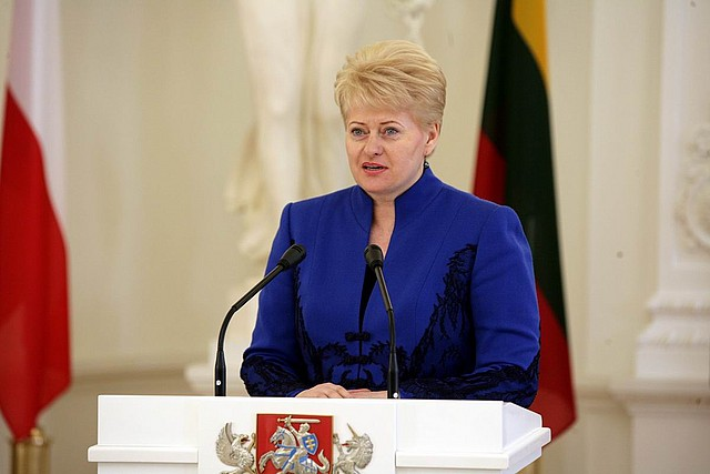 Dalia Grybauskaitė 2010-04-08