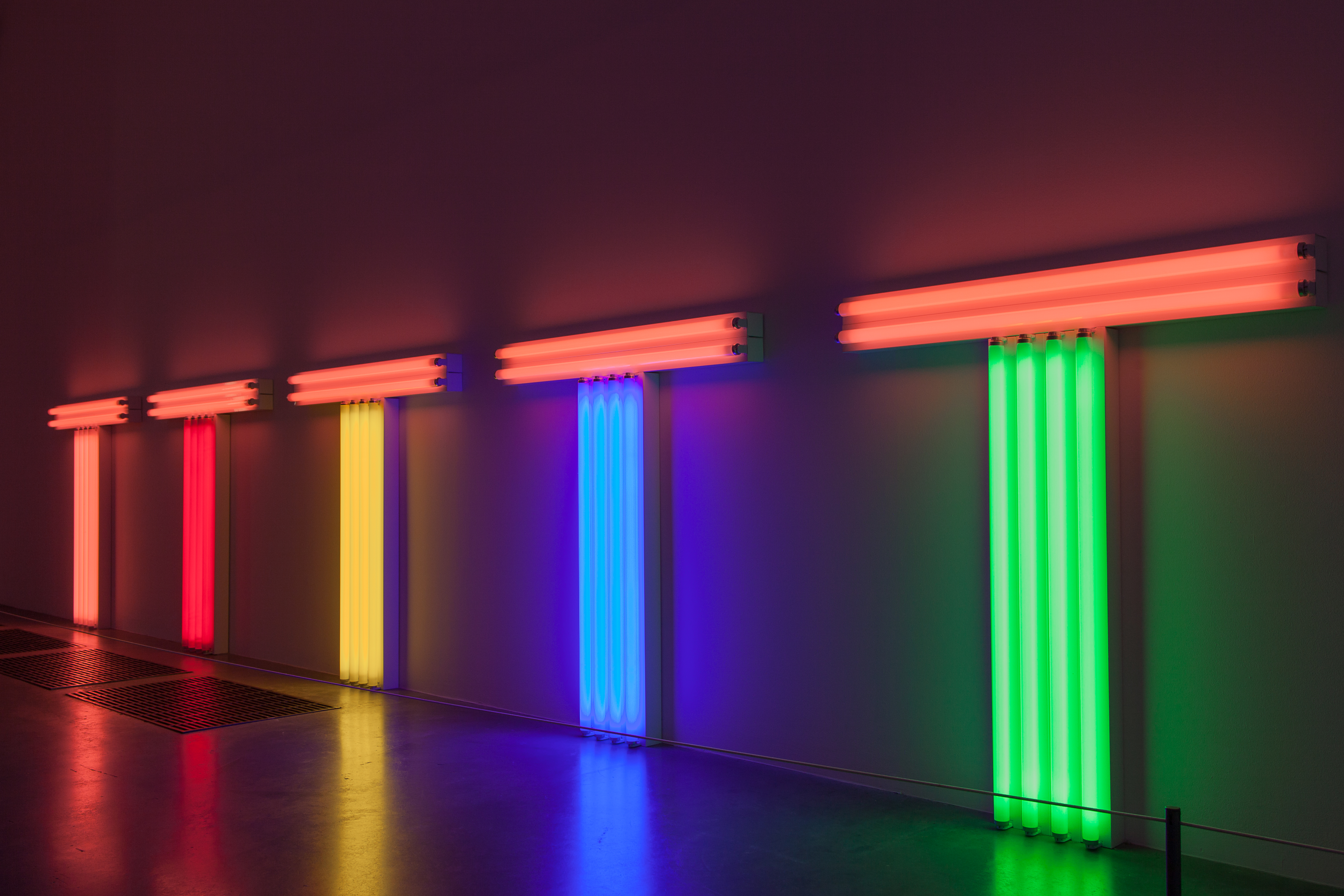 file dan flavin structure and clarity tate modern museum london