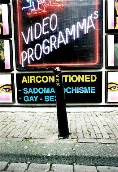 Amsterdam Street Post by Gary Mark Smith