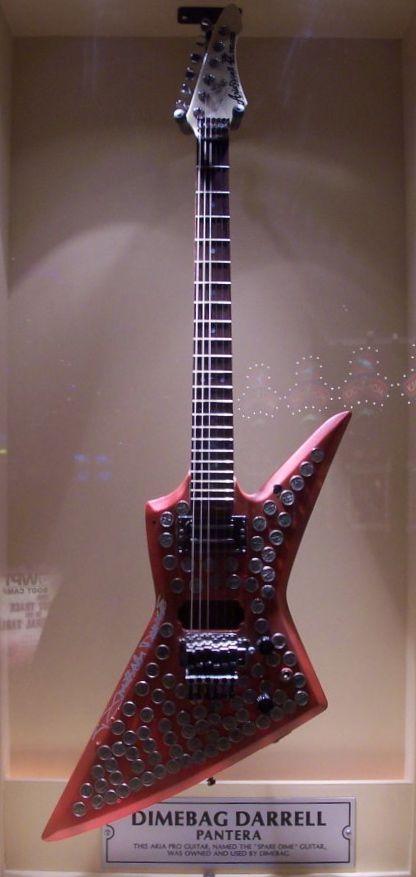 File:Dimebag Darrell guitar jpg - Wikimedia Commons