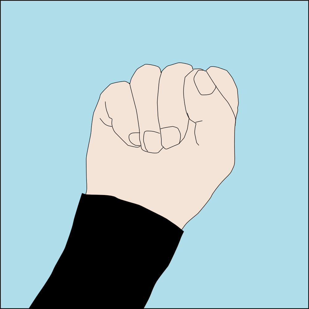 Low On Air Diving Hand Signal