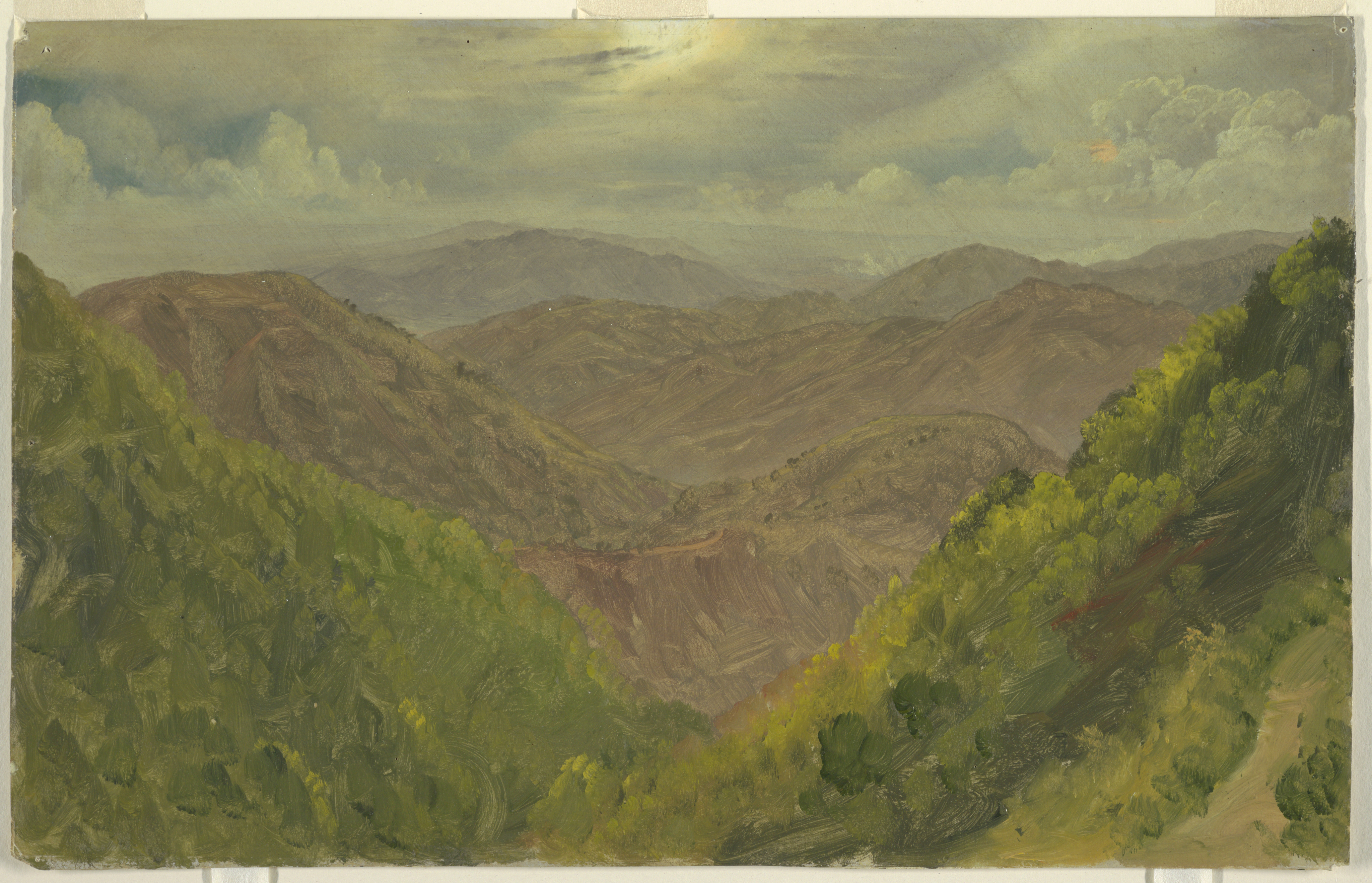 File Drawing Landscape In Jamaica West Indies May August 1865
