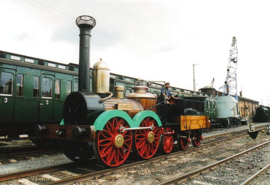 Accucraft Saxonia III K live-steam locomotive   Garden Railways ...
