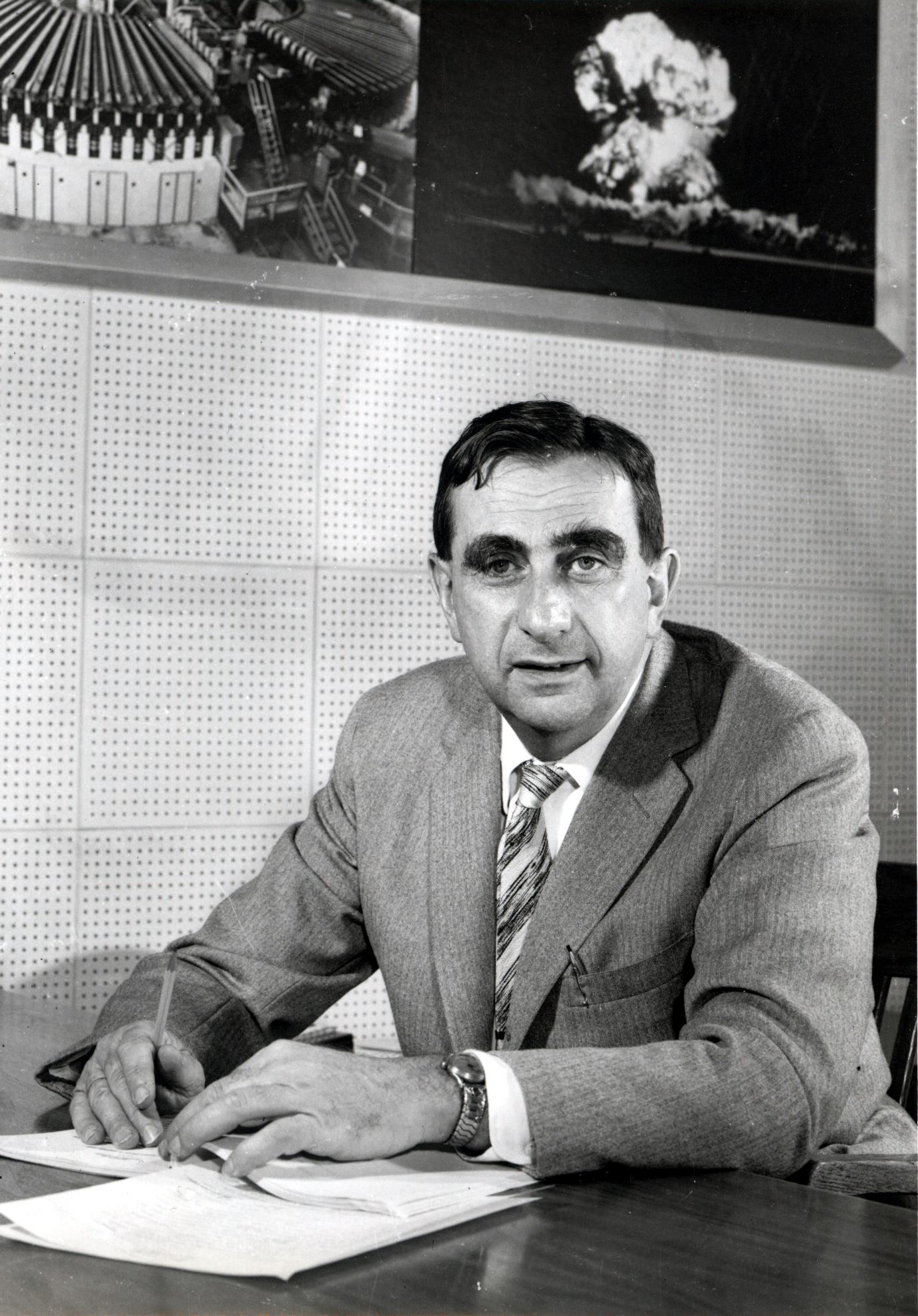 Teller in 1958