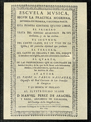Nassarre, Pablo (ca. 1655-ca. 1730)
