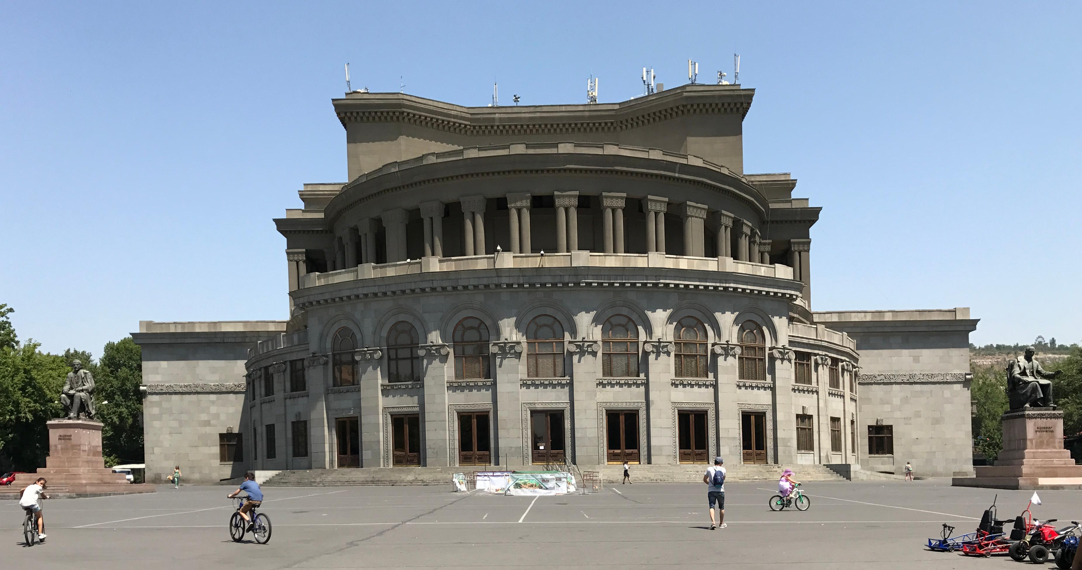 Captivating File:Exterior Of Opera House Of Yerevan   3.JPG