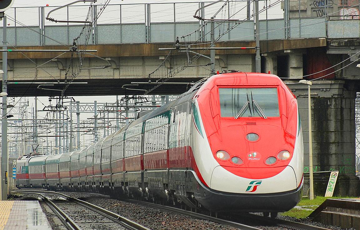 RailPictures.Net Photo: ETR 500 FS Italian State Railways Fiat ...