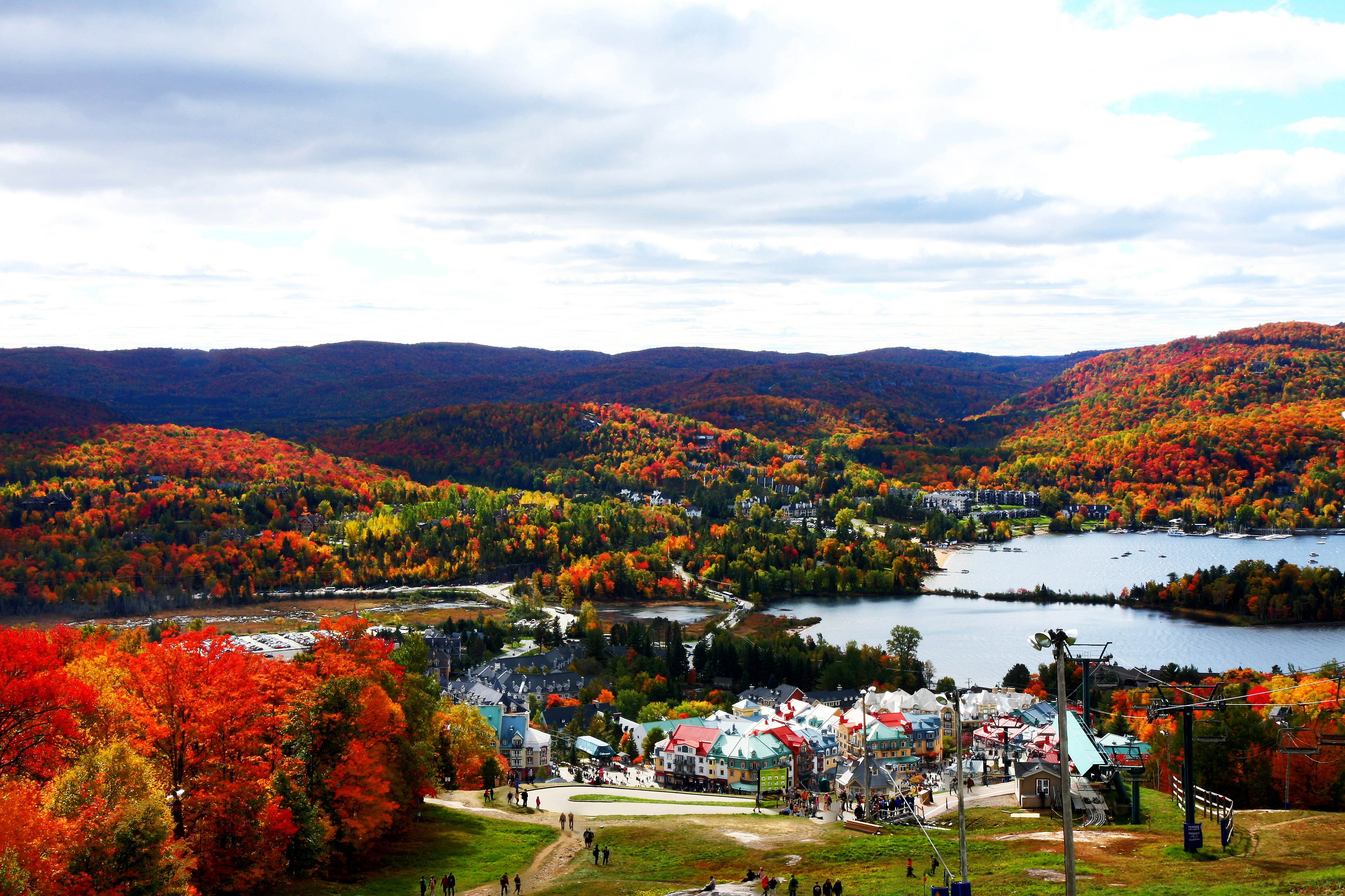 Autumn Colors File Fall Colors Of Mont Tremblant Jpg Wikimedia Commons