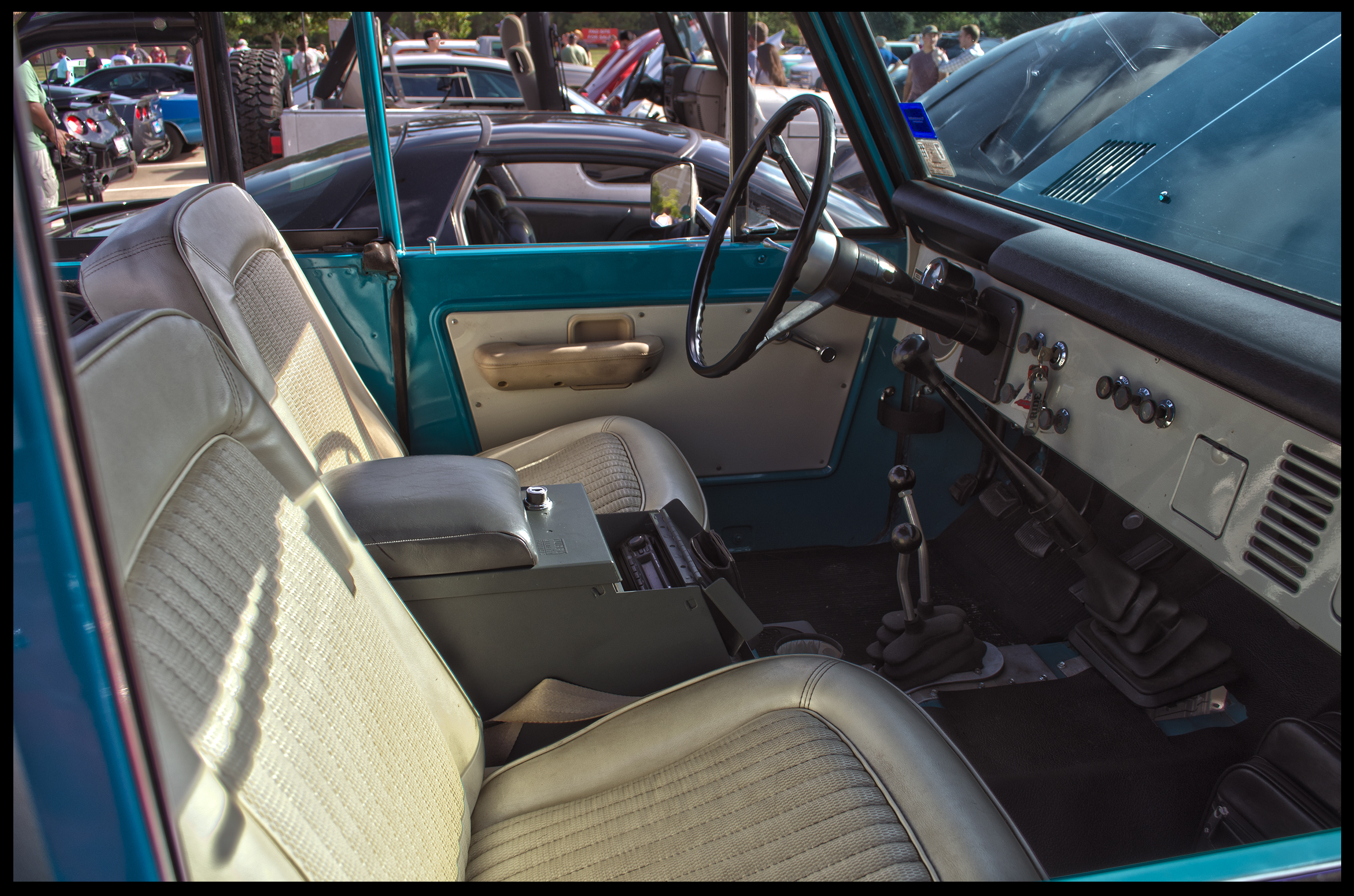 Ford bronco upholstery