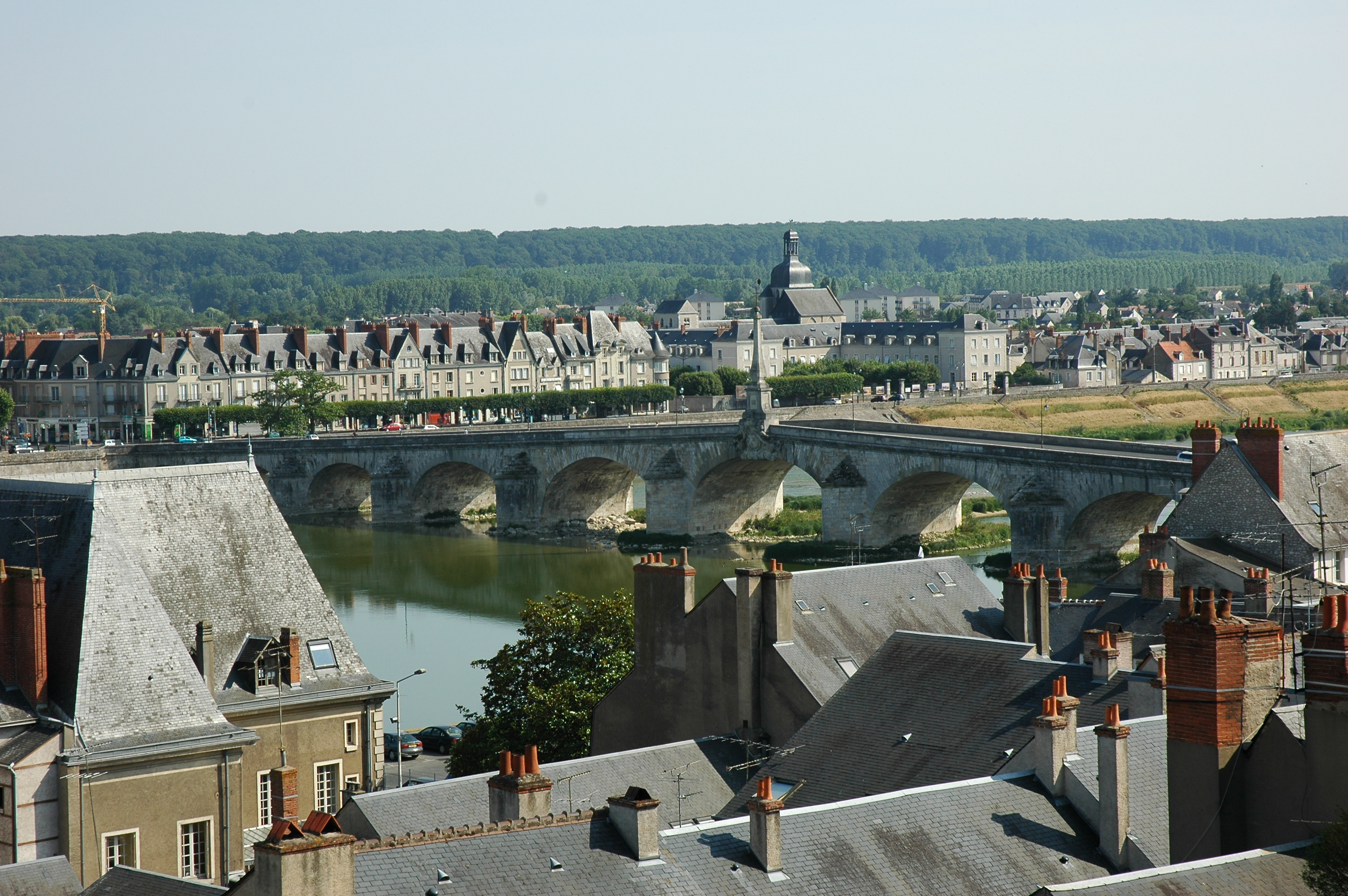 Blois France  City pictures : Fichier:France Loir et Cher Blois Pont Jacques Ange Gabriel 01 ...