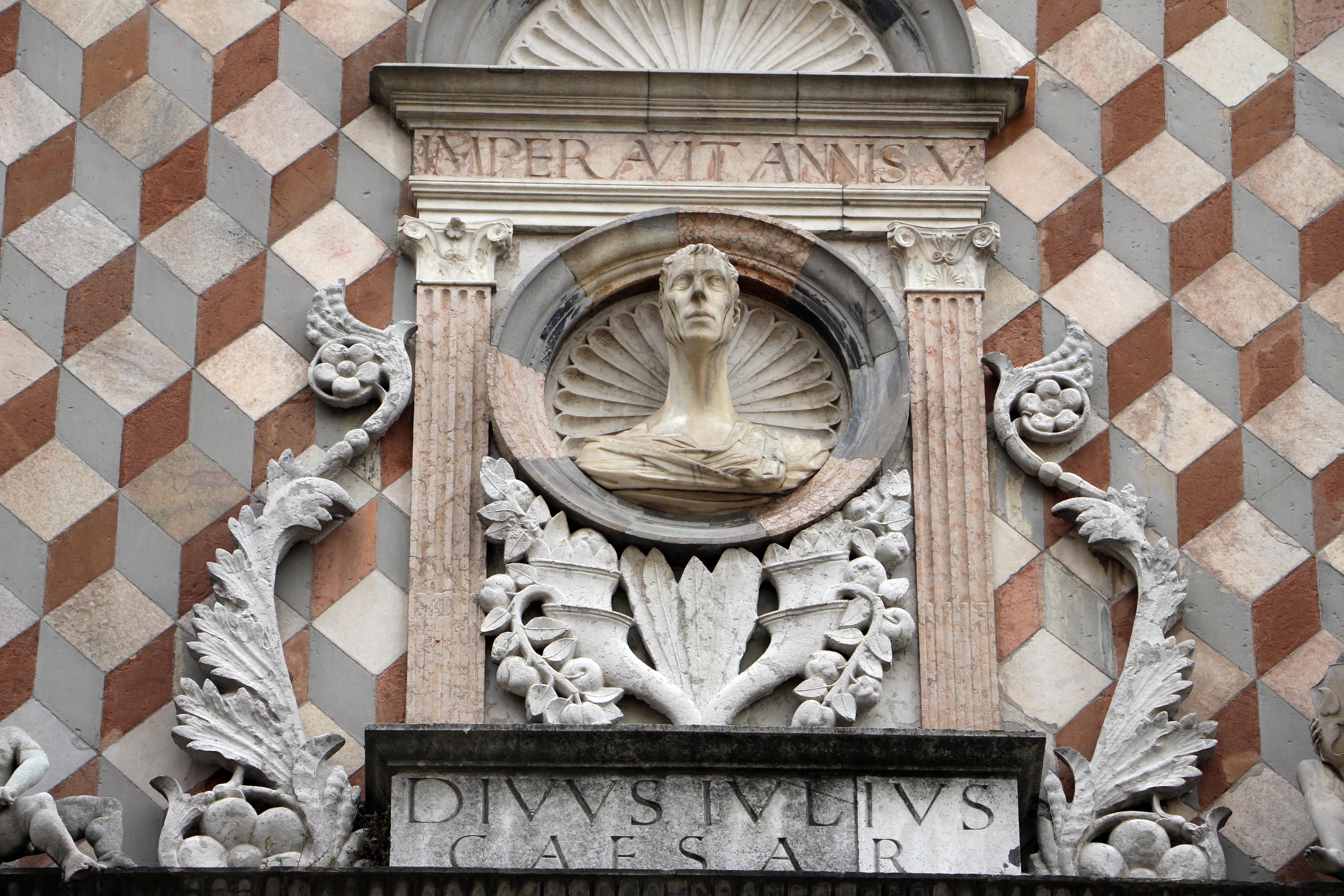 File:Giovanni antonio amadeo, facciata della cappella colleoni, 1472-75,  finestra