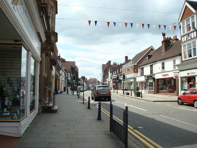 High Street, Reigate - geograph.org.uk - 1365693