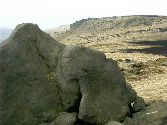 Higher Shelf Stones - geograph.org.uk - 157314