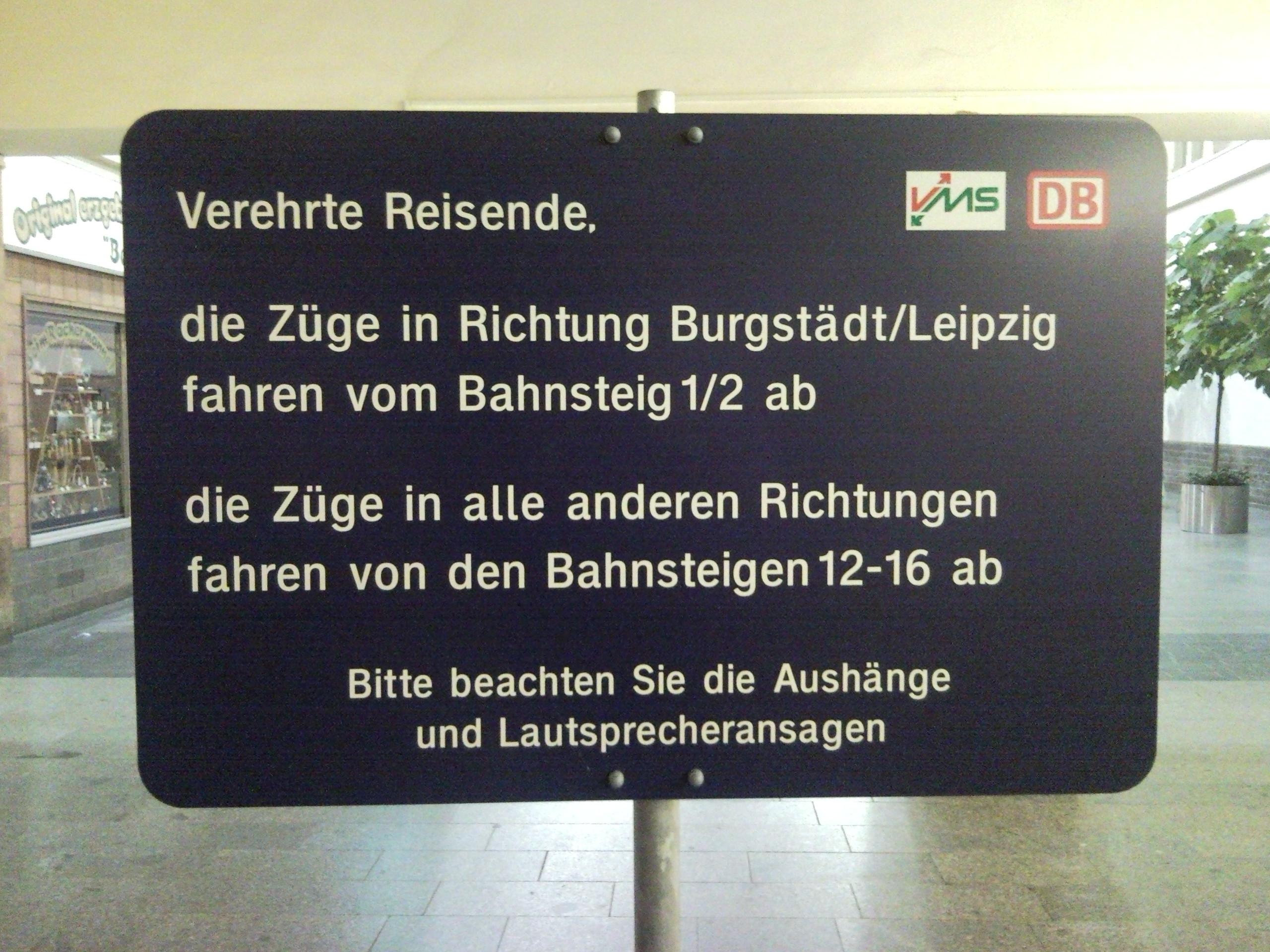 Alle Anderen 2009 file:hinweisschild chemnitz hbf - wikimedia commons