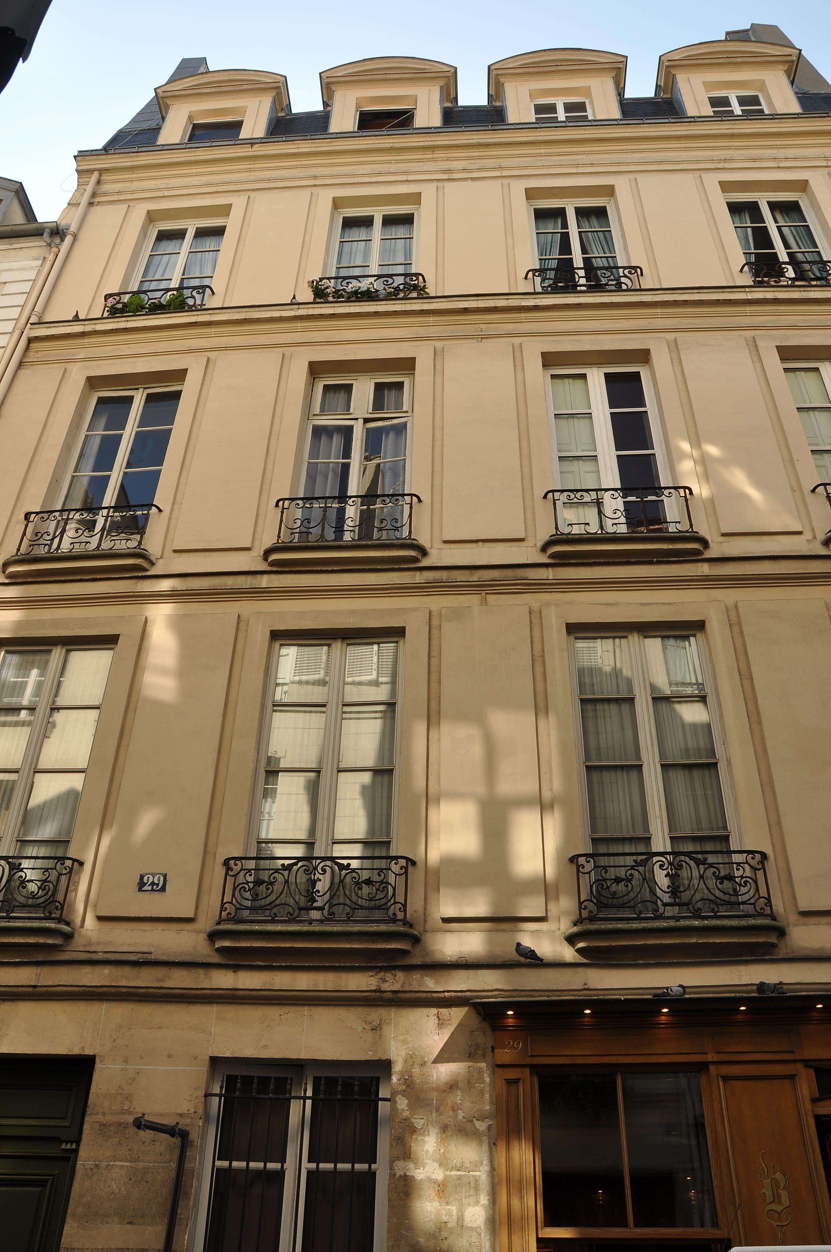 File hotel particulier 29 rue saint louis en l 39 le paris wikimedia commons - Hotel ile saint louis ...