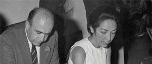 Hoveyda and his wife, Leila Emami Hoveida and his wife.jpg