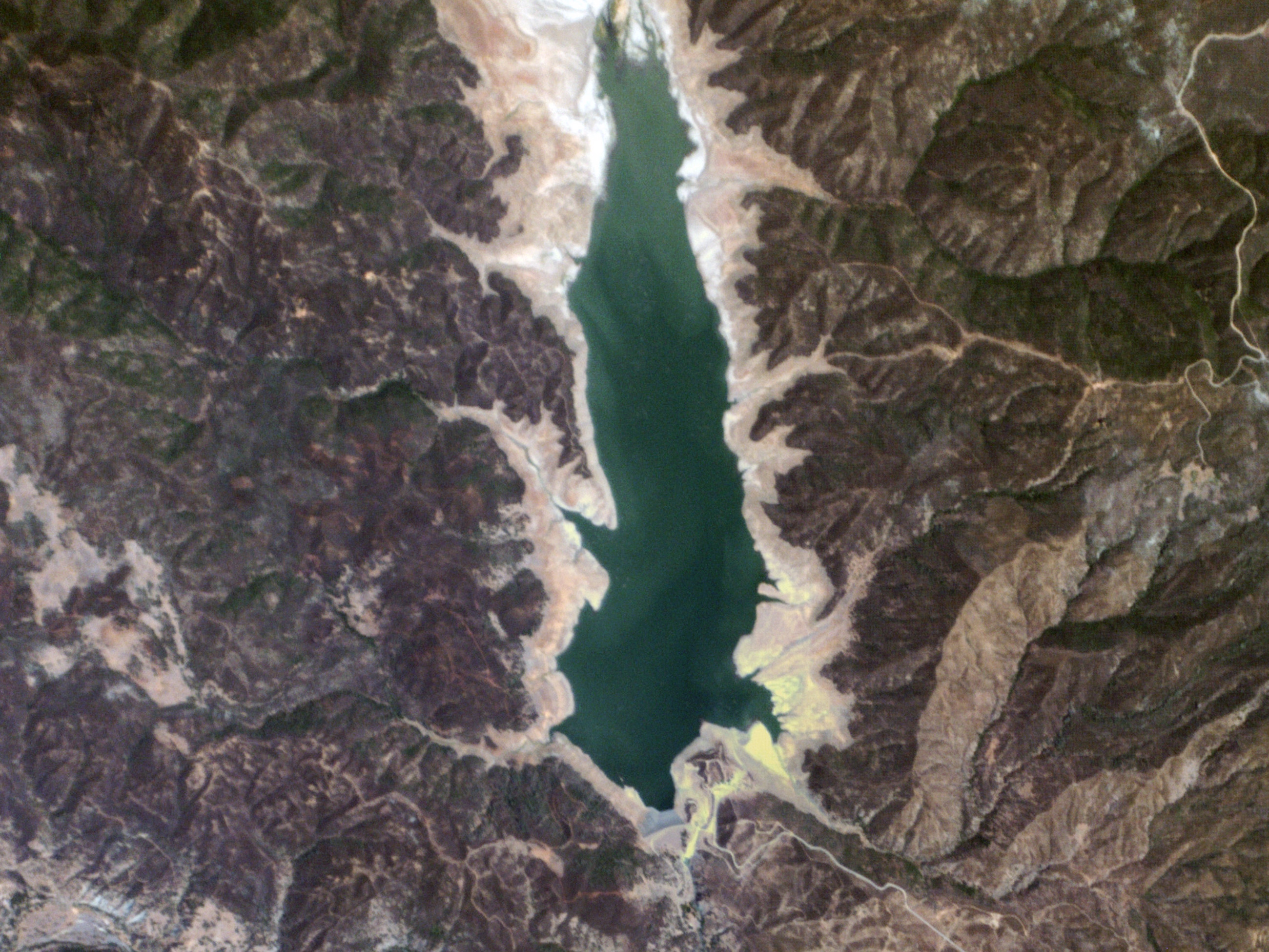 File Indian Valley Reservoir California Usa Planet Labs
