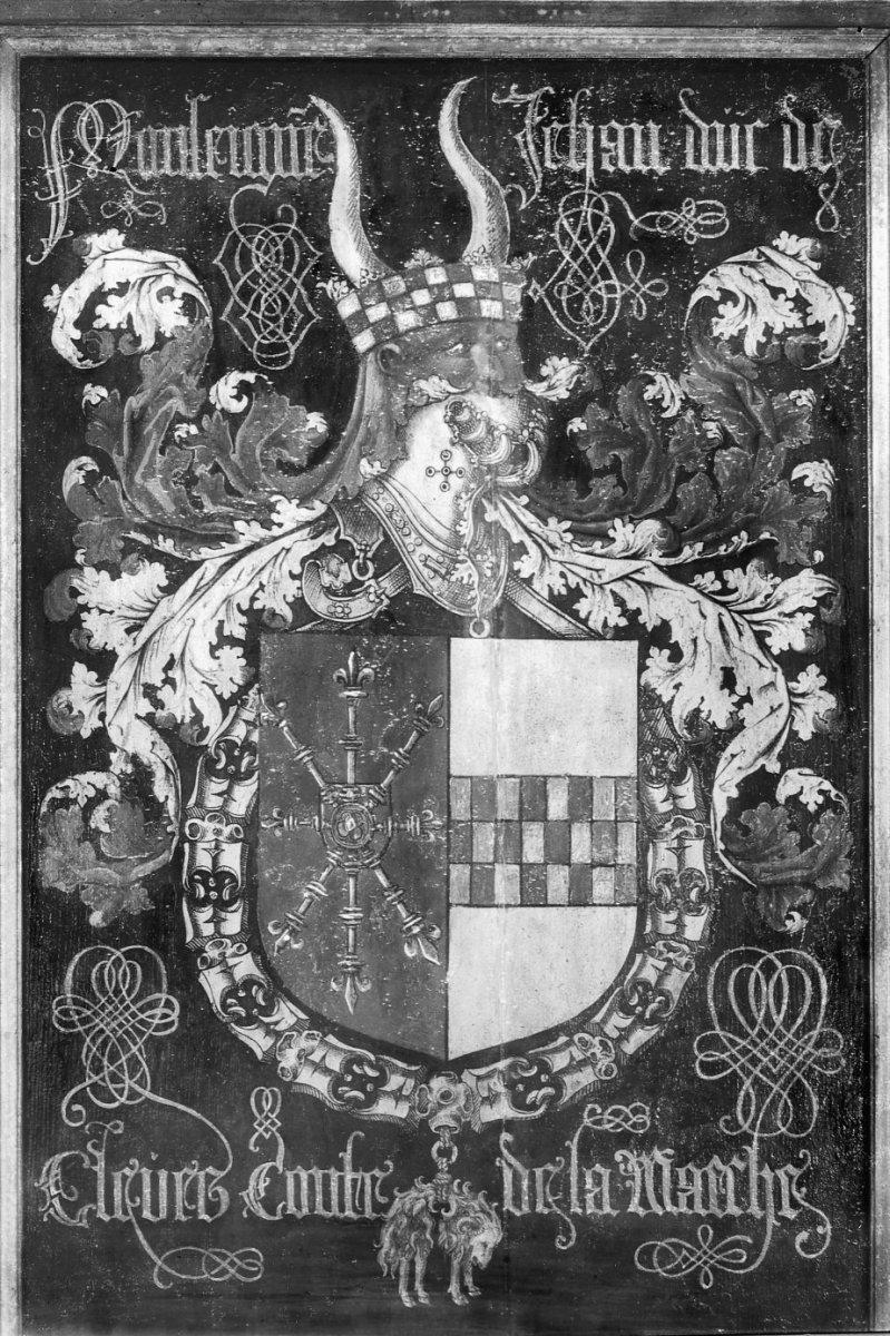 File:Interieur priesterkoor, wapenbord Ridder Gulden Vlies, Jehan de ...