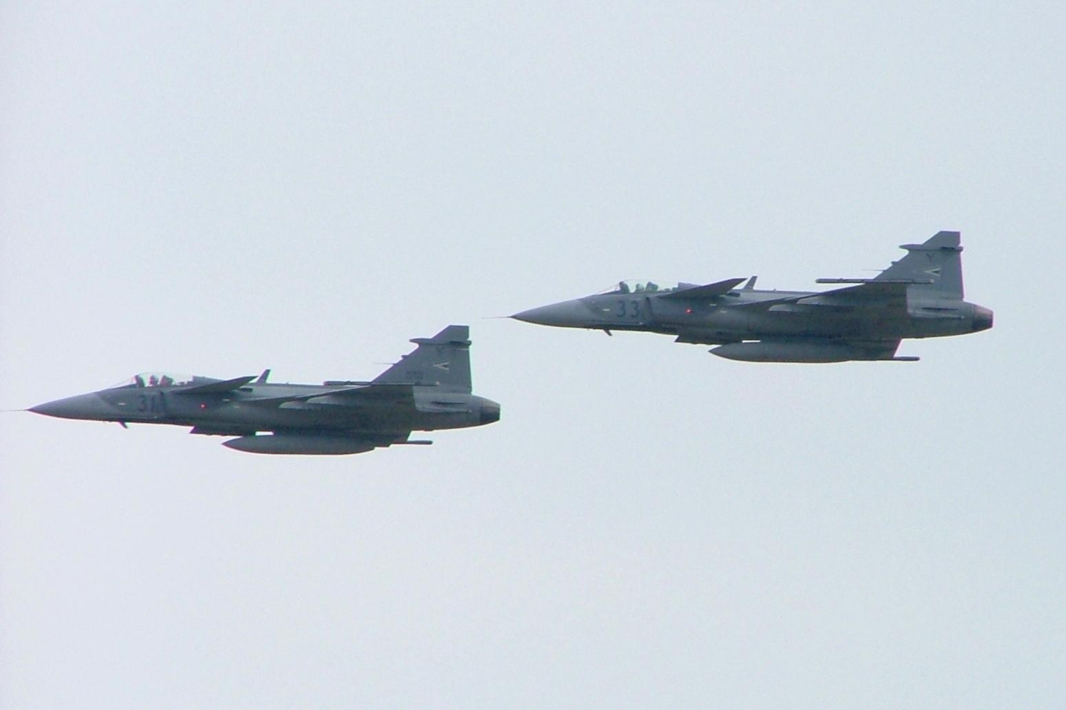 Saab JAS 39 Gripen der ungarischen Luftwaffe in Kecskemét