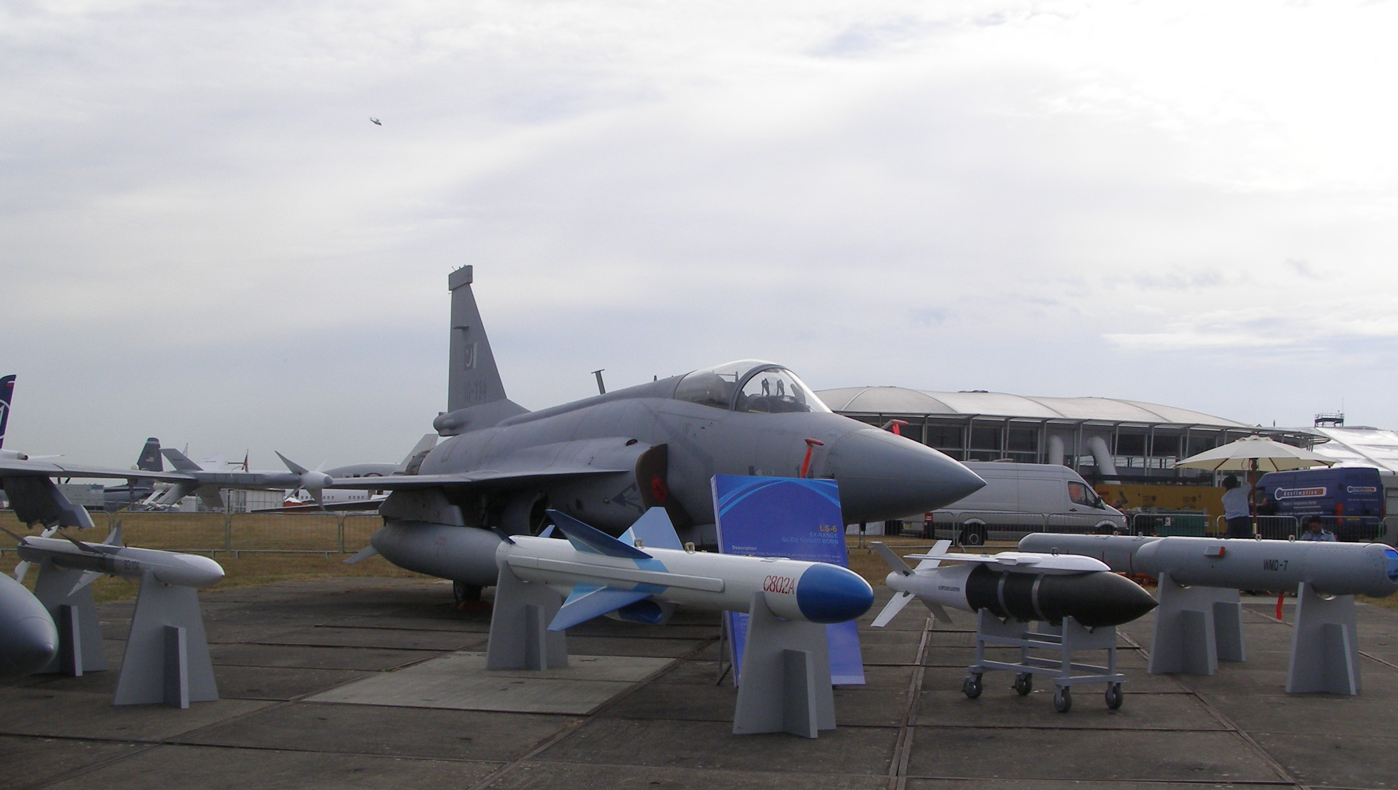 JF-17 on displa... J 17