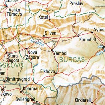 FileJambol Bulgaria 1994 CIA mapjpg Wikimedia Commons