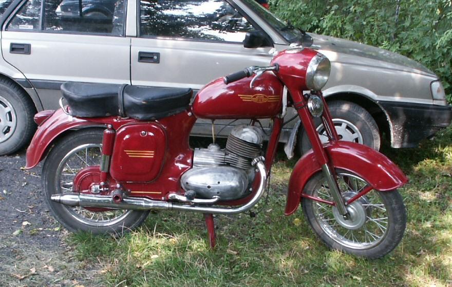 used jawa motorcycle vintage
