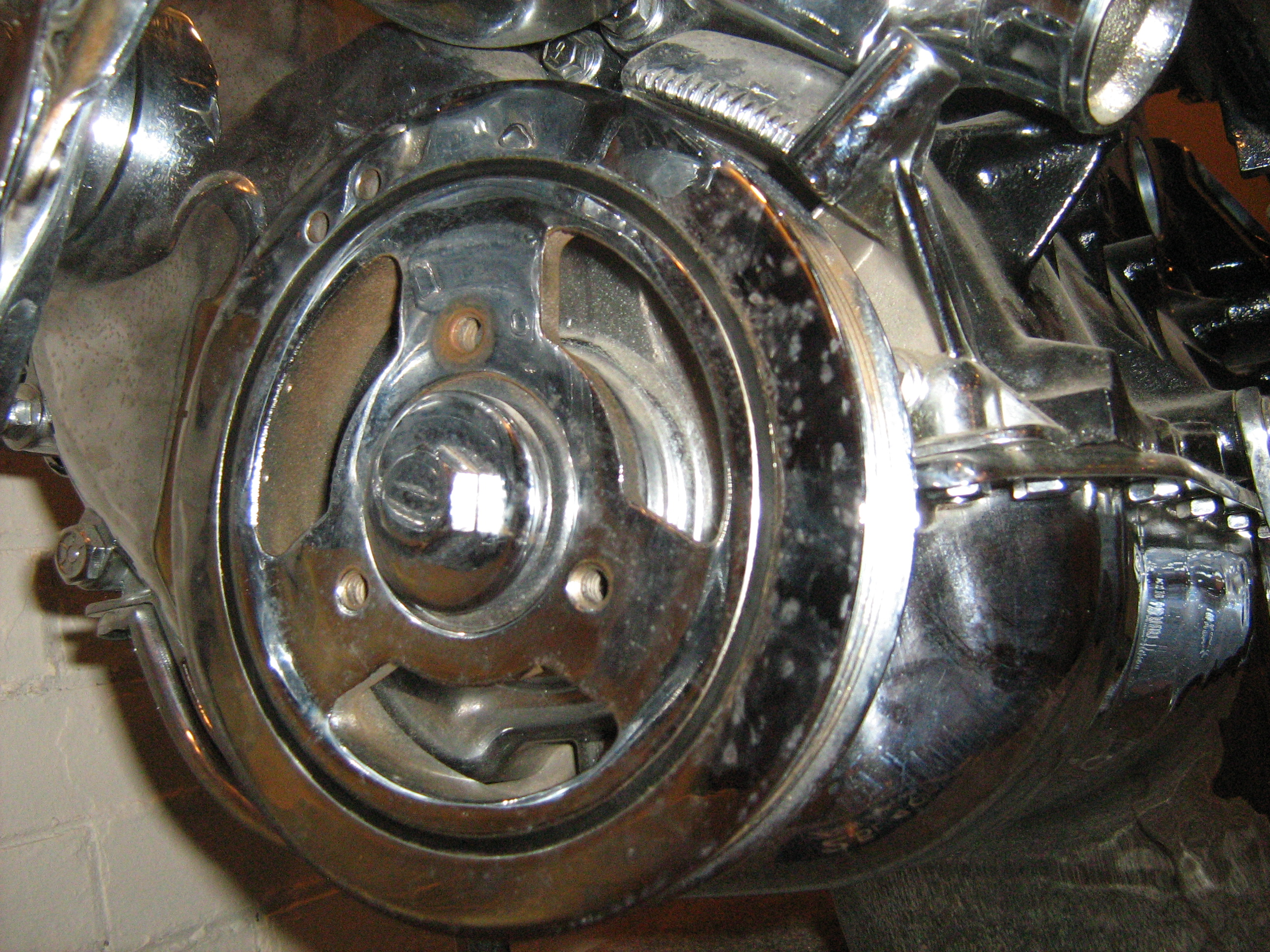 Jeep Liter Cylinder Engine Chromed P