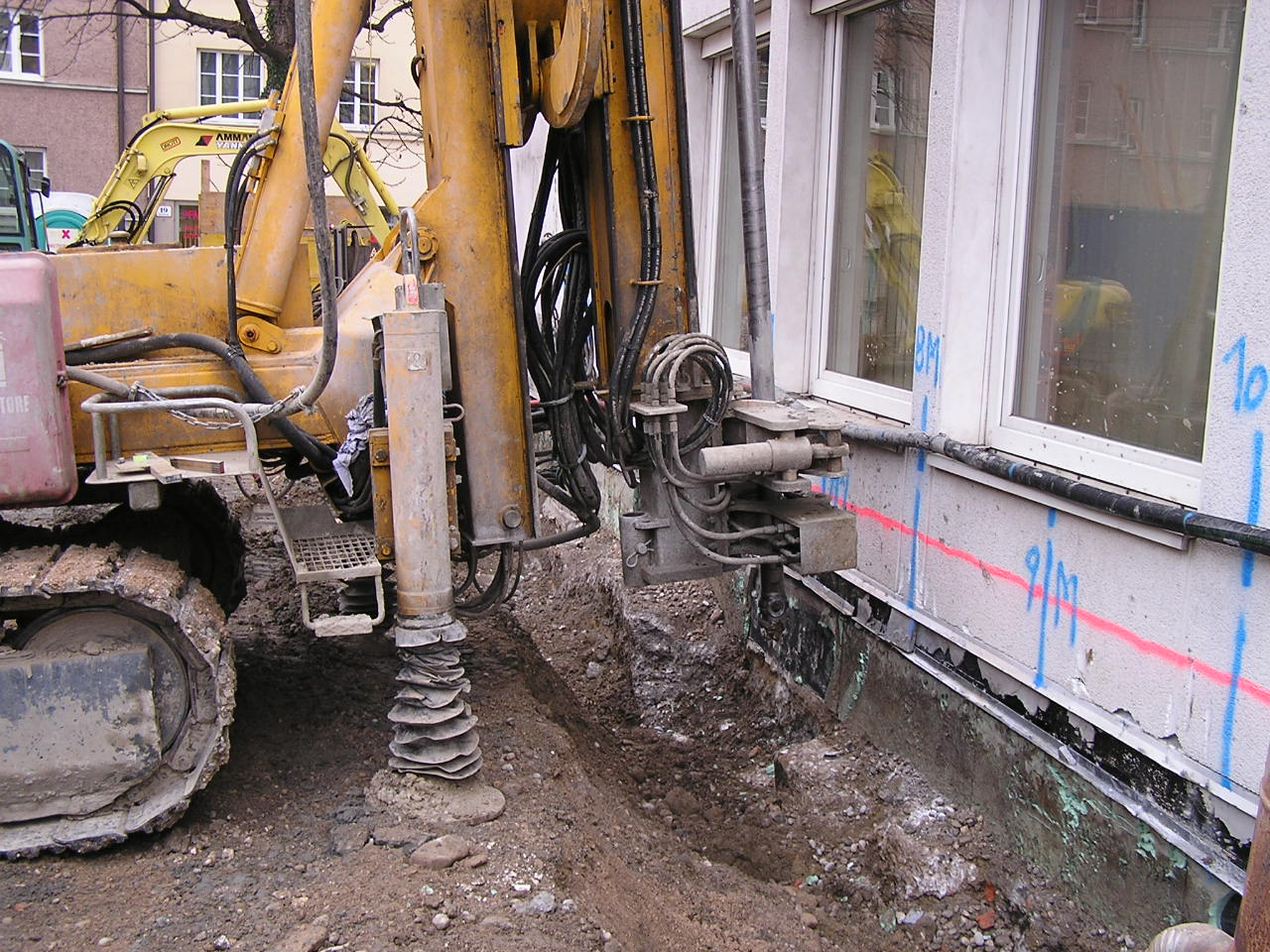 Jet grouting can help to reduce foundation costs for Soil grouting
