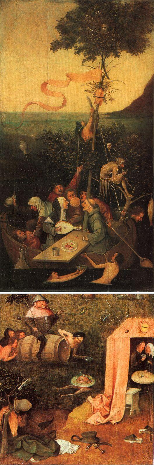 Jheronimus Bosch: Kruisdraging (Gent)   bijbel en kunst