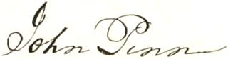 John Penn Signature