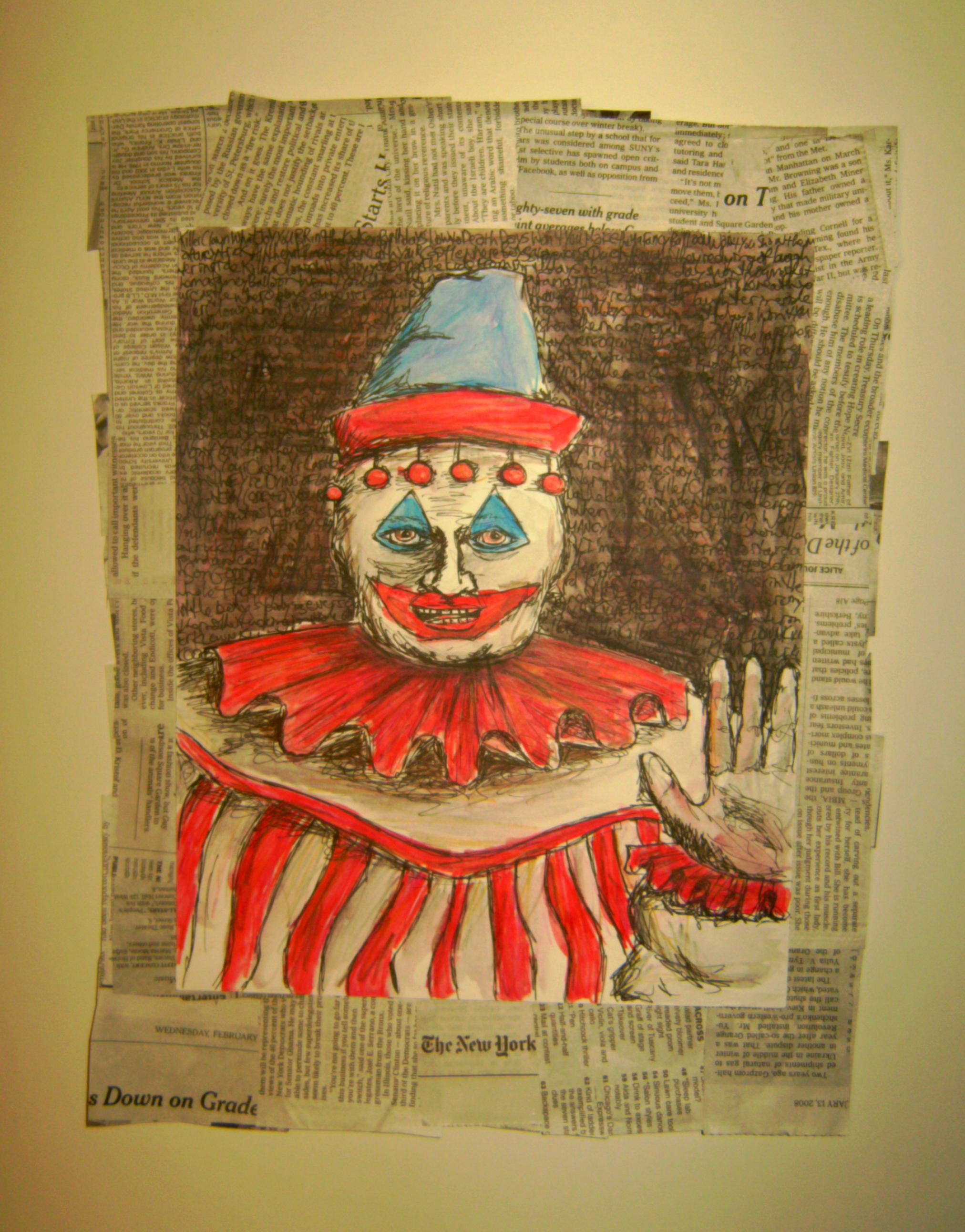John Wayne Gacy Painting For Sale Estcy