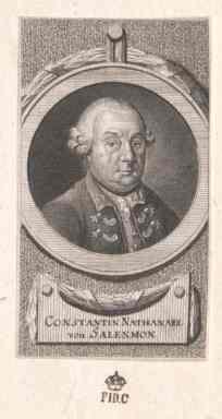 Konstantin nathanael von salenmon 1710 1797