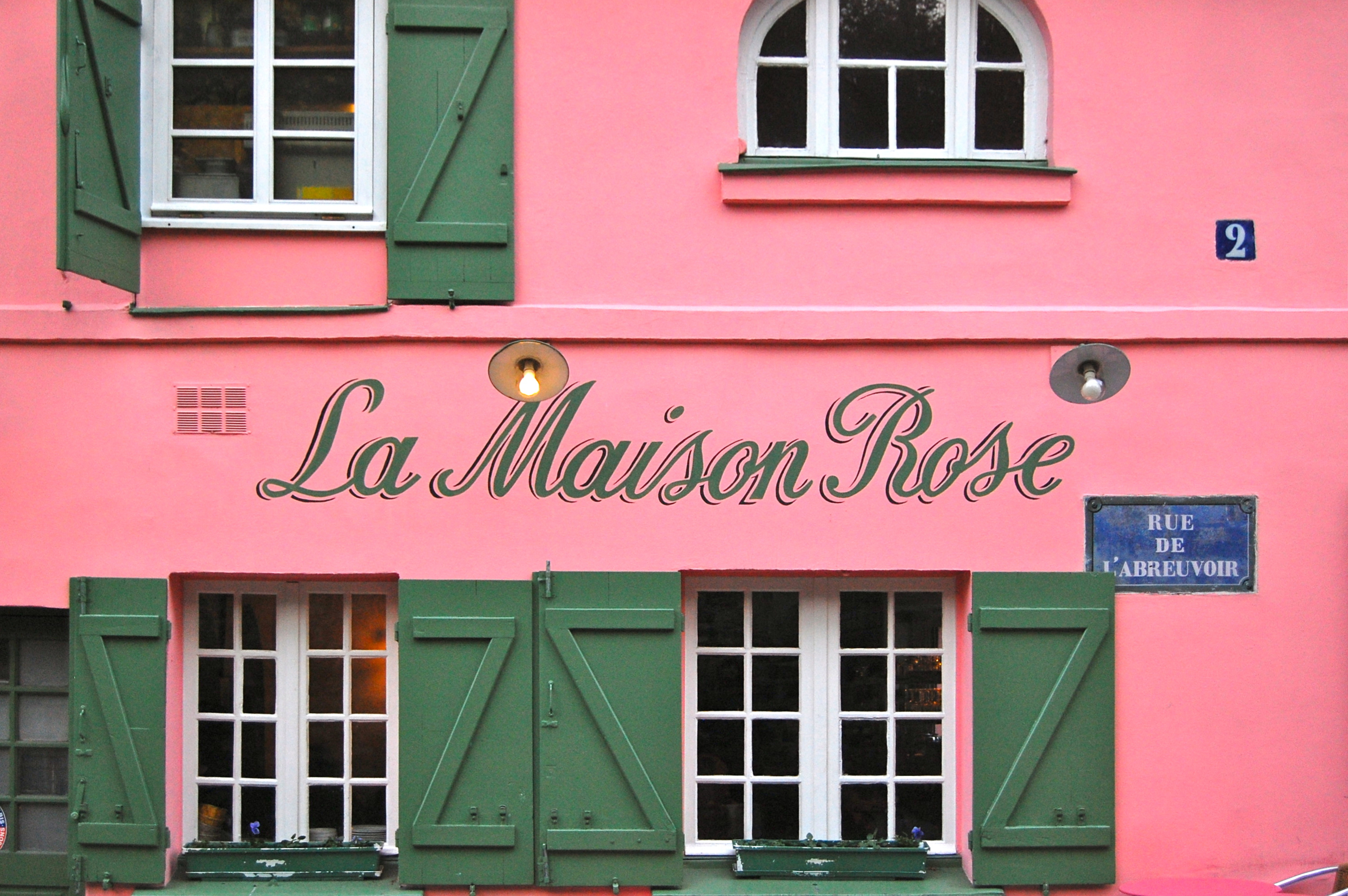 File la maison rose paris 27 november for La maison rose lourmarin