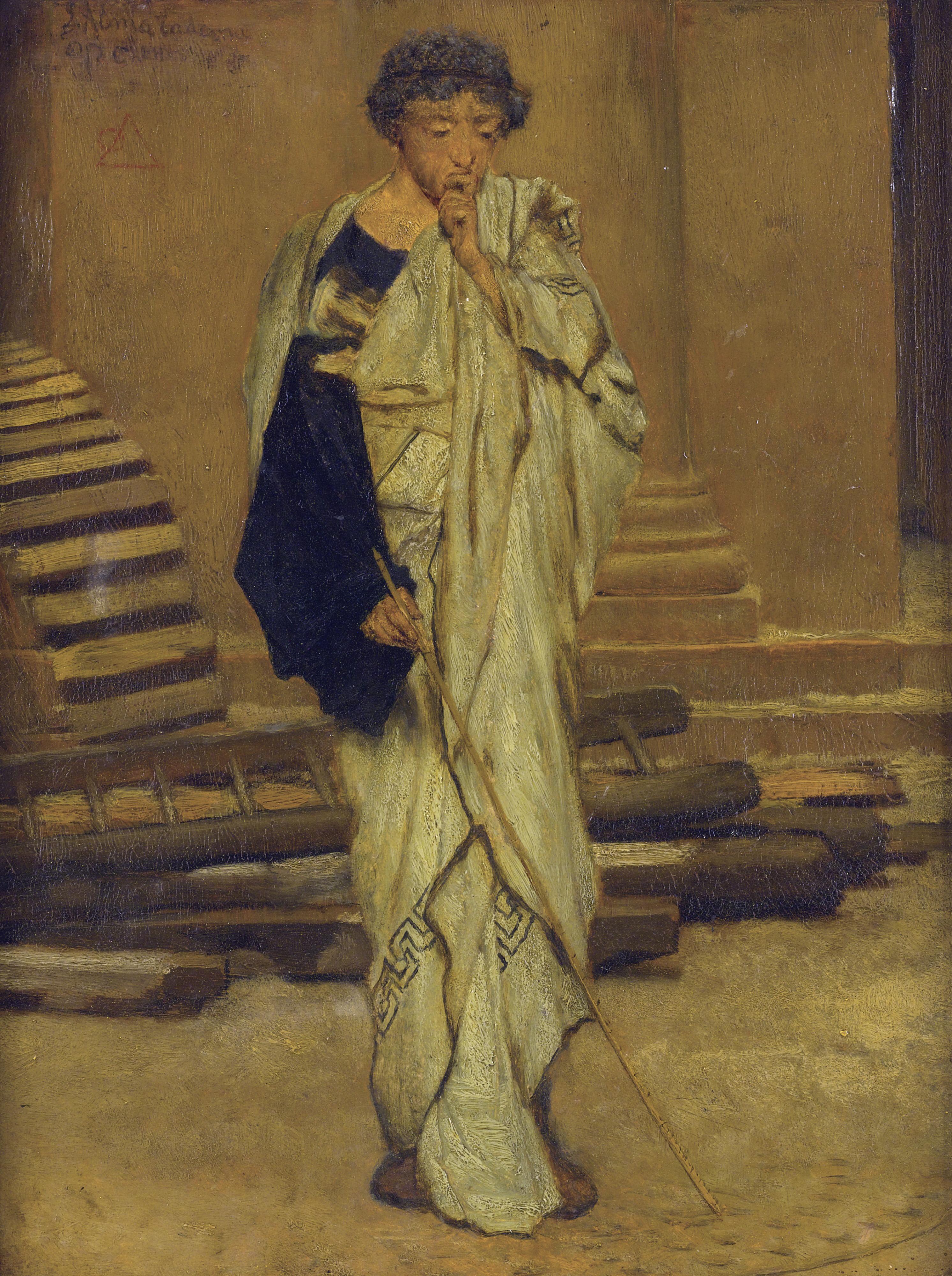 Description Lawrence Alma-Tadema The Roman Architect.jpg