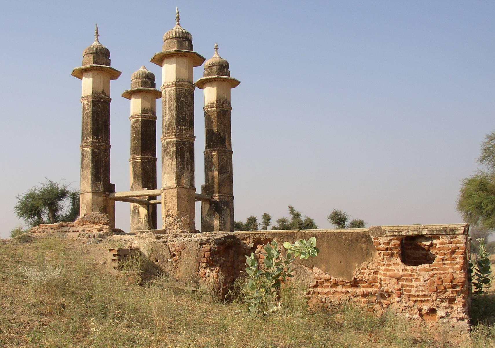 Mandawa Village in Rajasthan