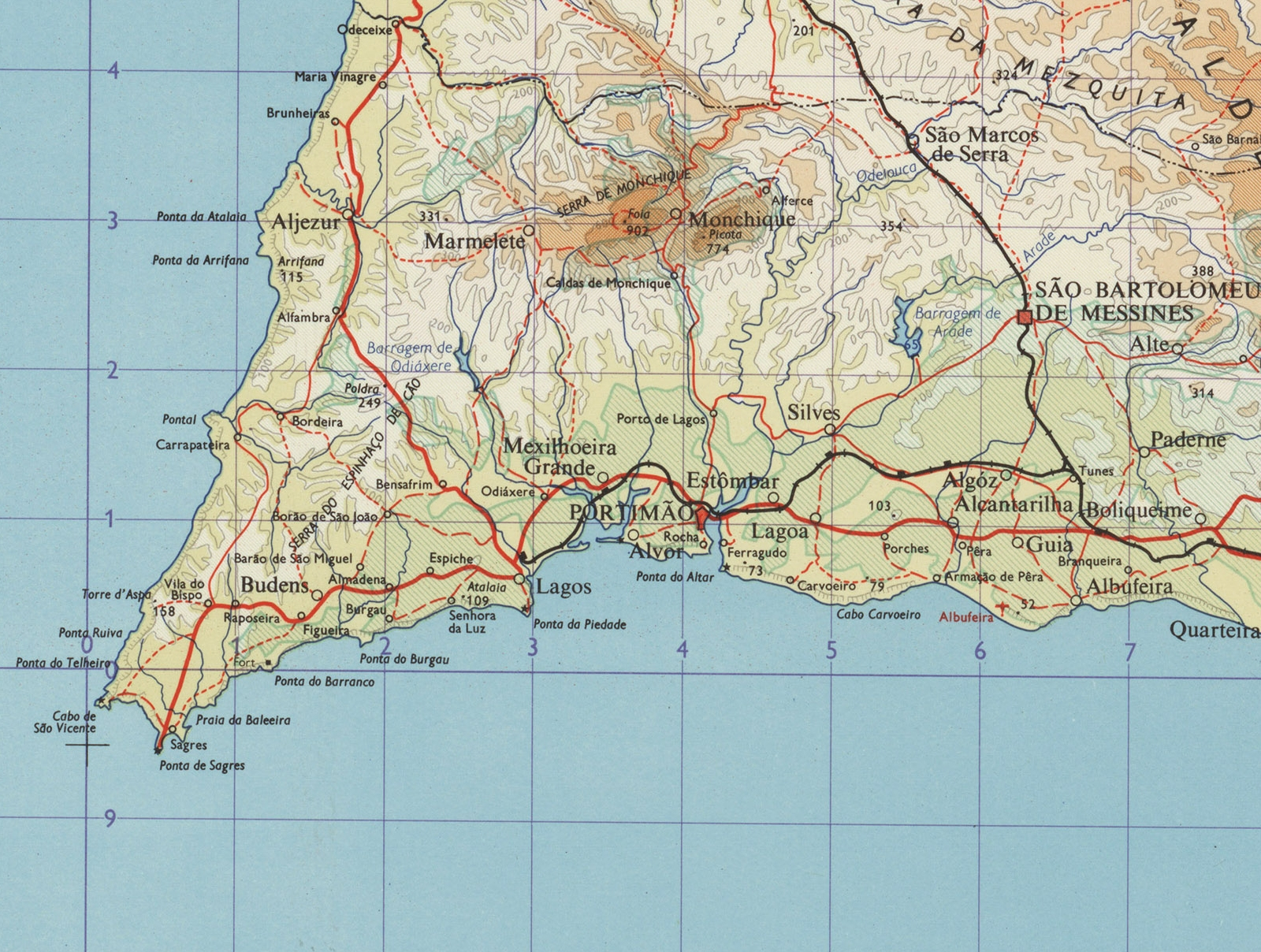 File Mapa Do Barlavento Algarvio Em 1965 Jpg Wikimedia Commons