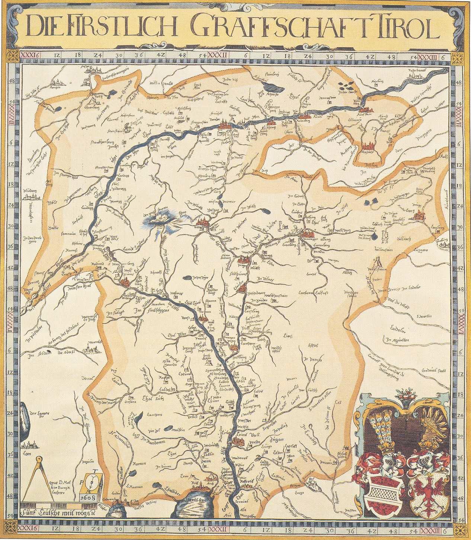 Karte Tirol.File Matthias Burglechner Kleine Tirol Karte Jpg Wikimedia Commons