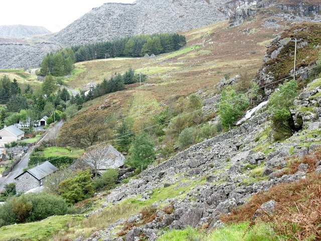 Melin Pant-yr-Ynn Slate Mill, Bethania - geograph.org.uk - 569791