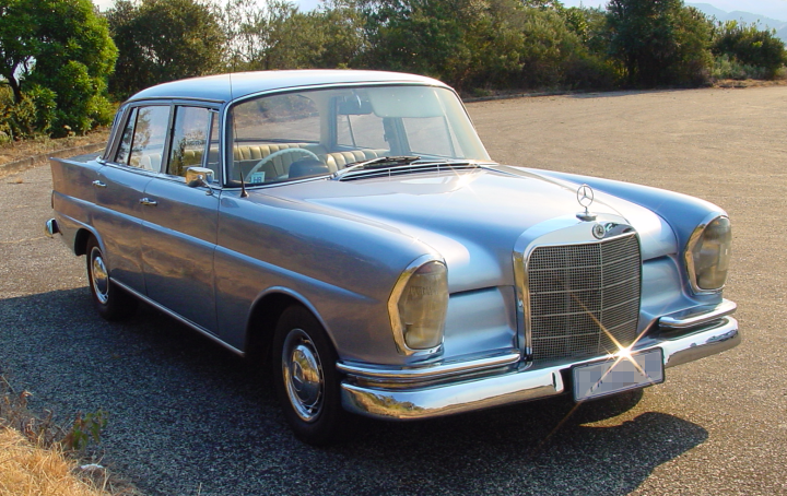 File Mercedes Benz 220b 1963 Png Wikimedia Commons