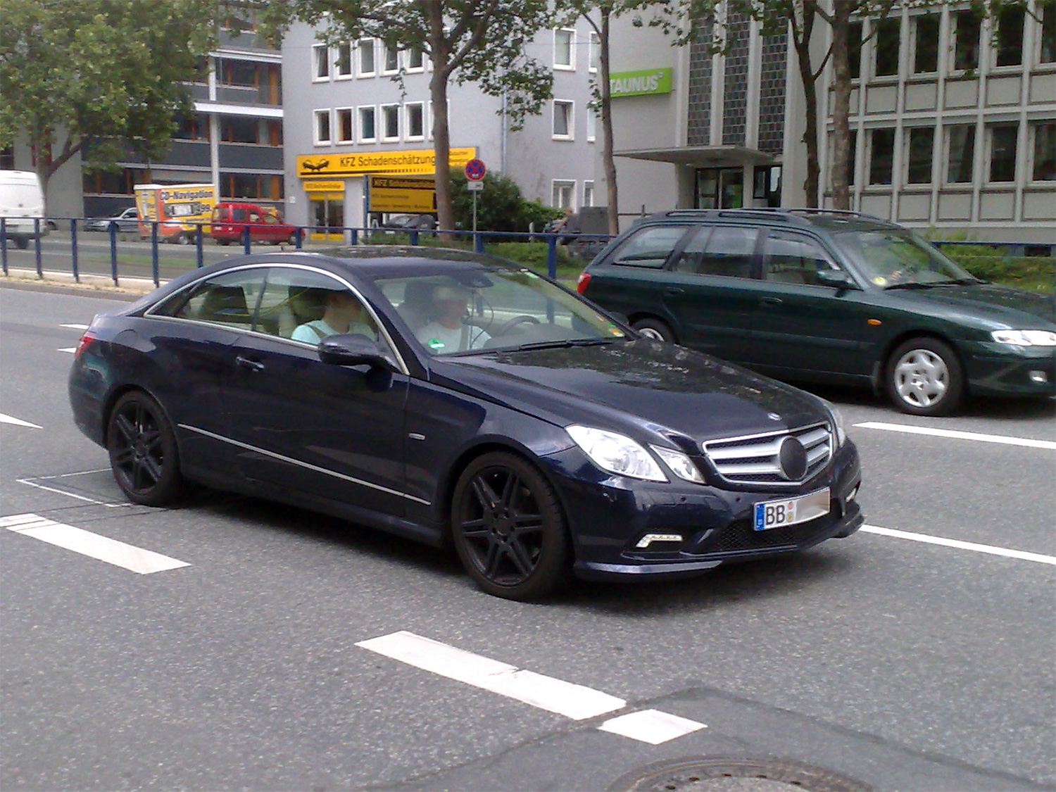 Mercedes E Coupe Comand