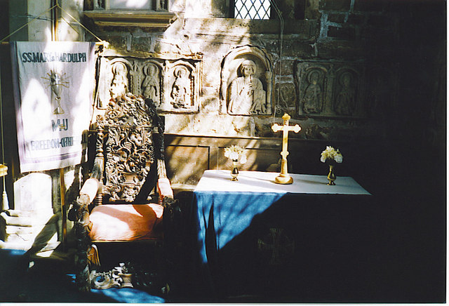 Mercian Carvings, Breedon-on-the-Hill. - geograph.org.uk - 128097