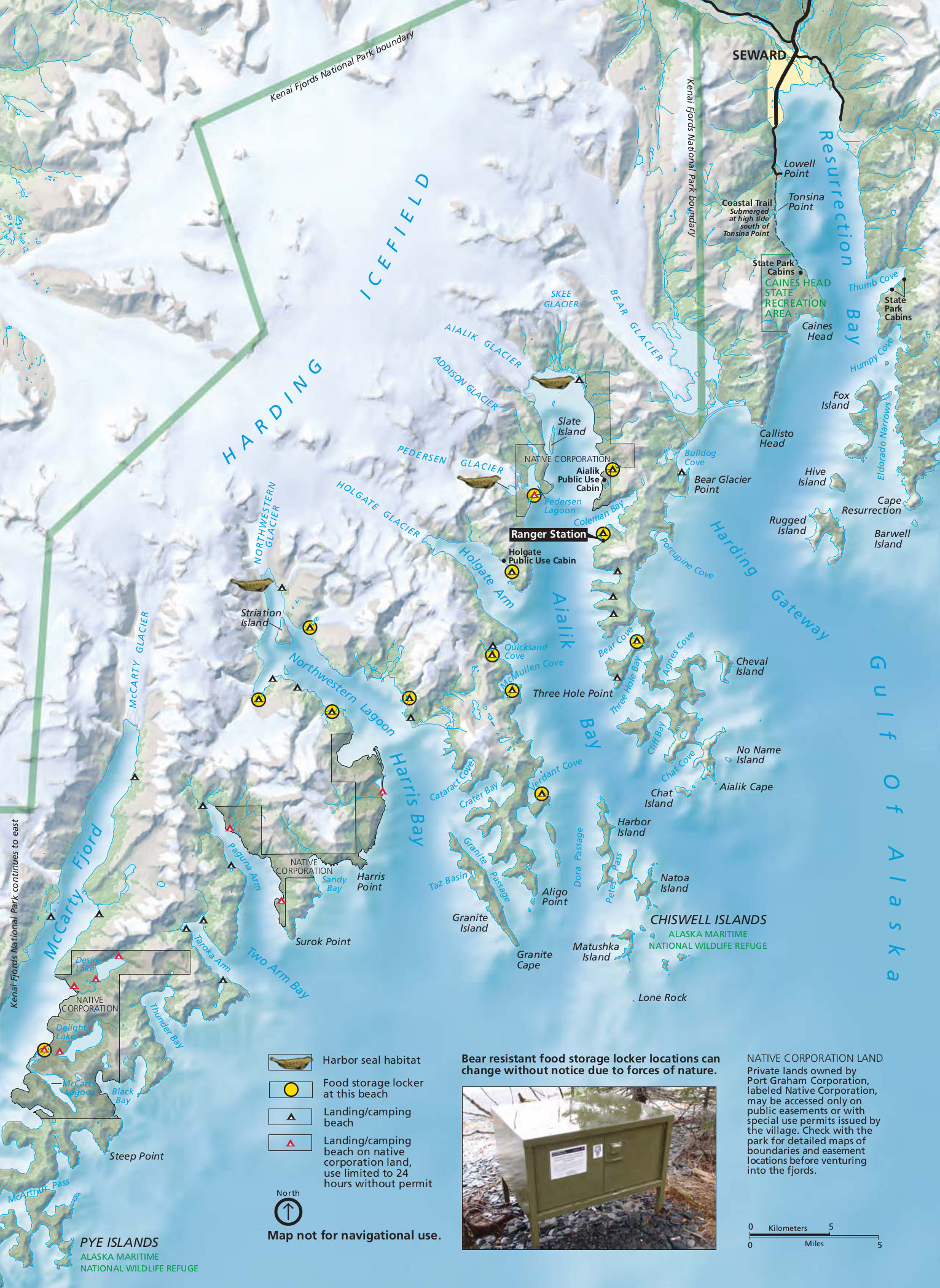 FileNPS kenaifjordskayakingmapjpg Wikimedia Commons
