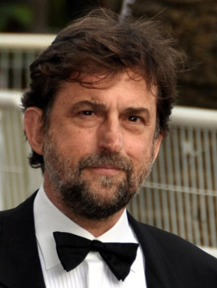 The 63-year old son of father  Luigi Moretti and mother(?), 178 cm tall Nanni Moretti in 2017 photo