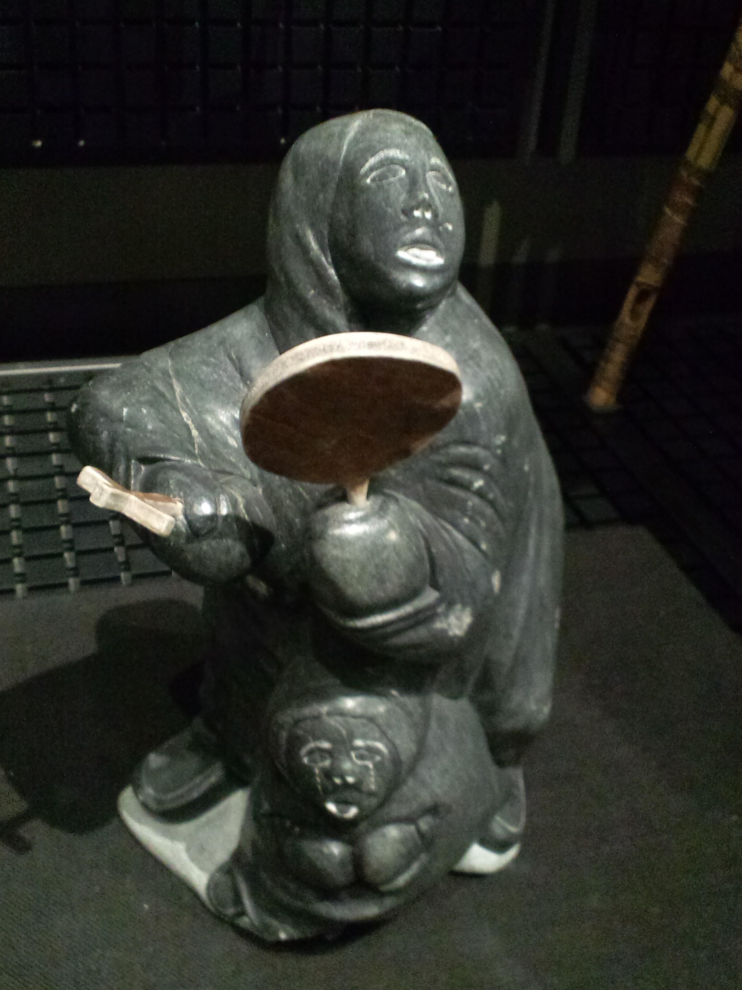 File national museum of ethnology osaka soapstone