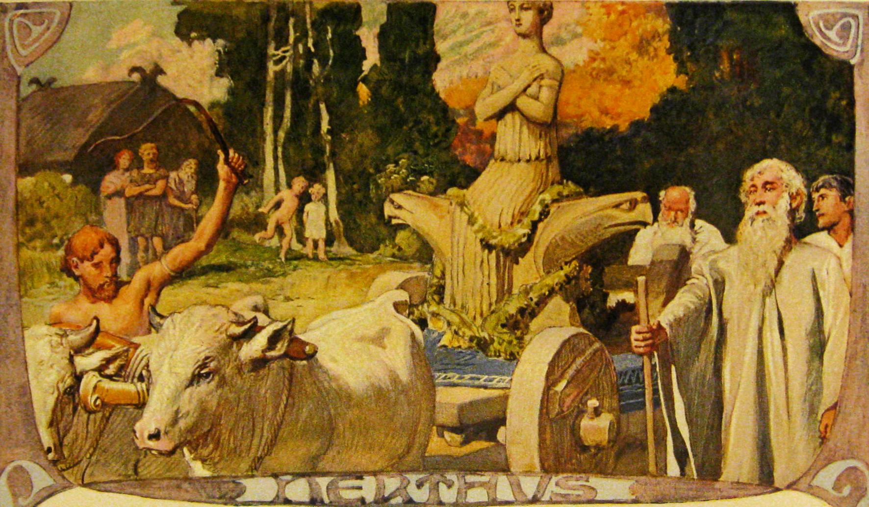 Germanic Mythology Wikipedia