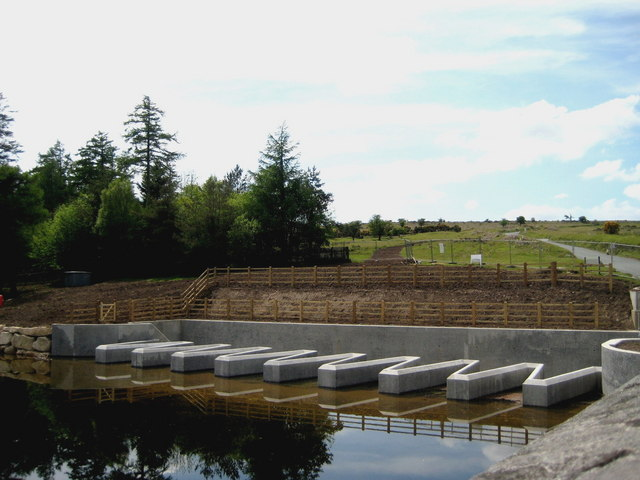 New auxiliary overflow - Venford Reservoir - geograph.org.uk - 1321498