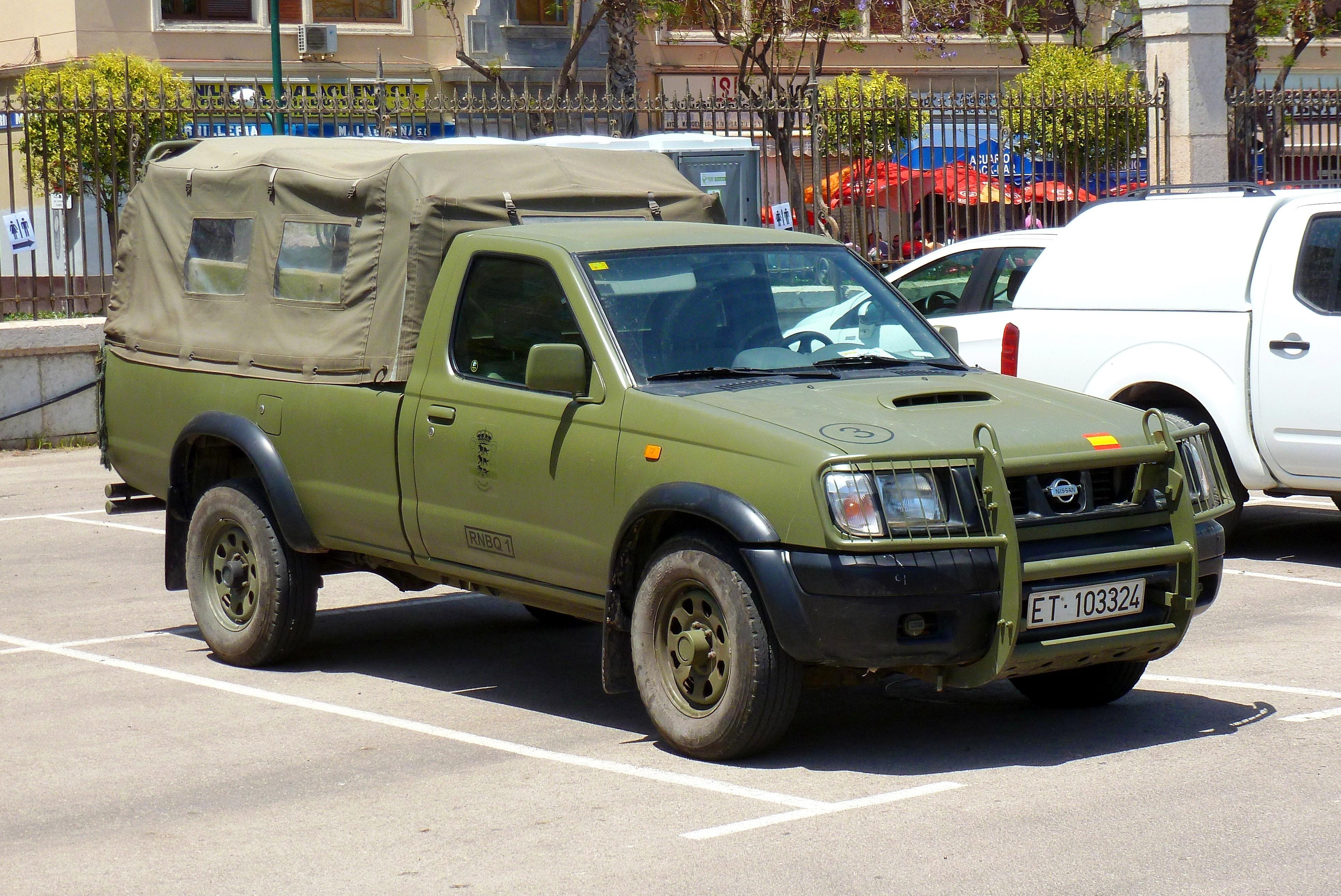 Archivo:Nissan Navara E. T..JPG - Wikipedia, la ...