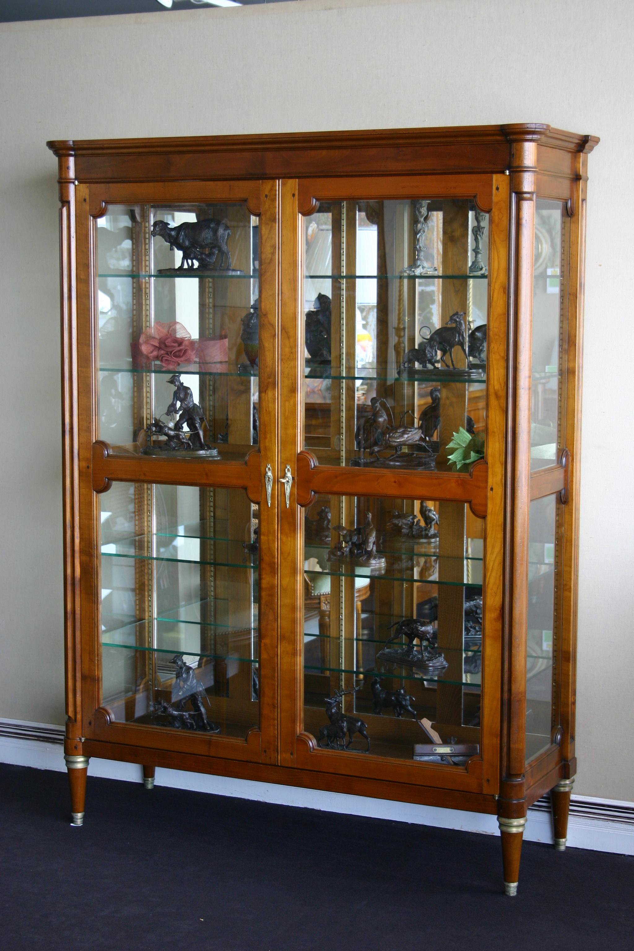 armoire a vitrine