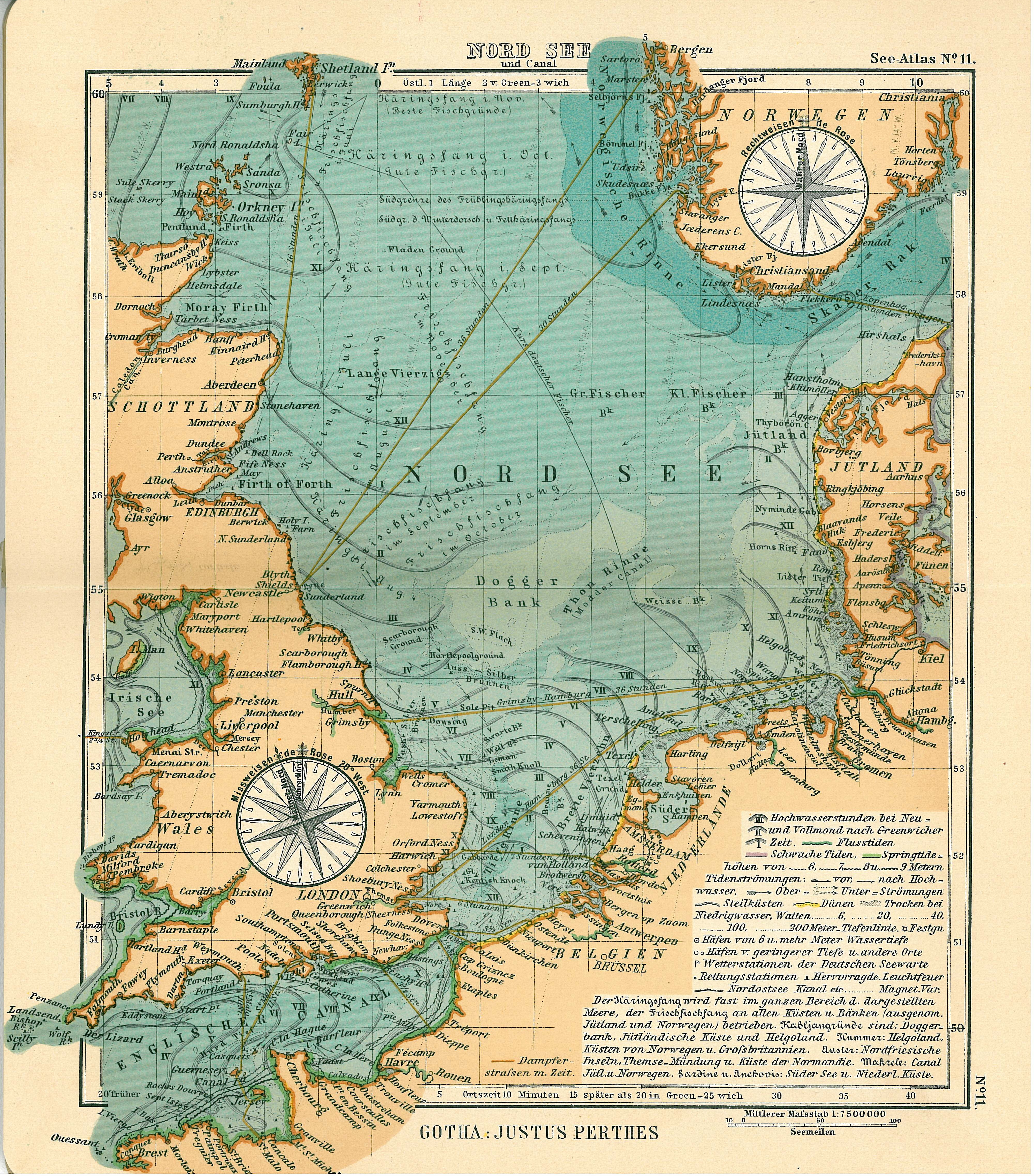 Old Maps Of The Faore Islands