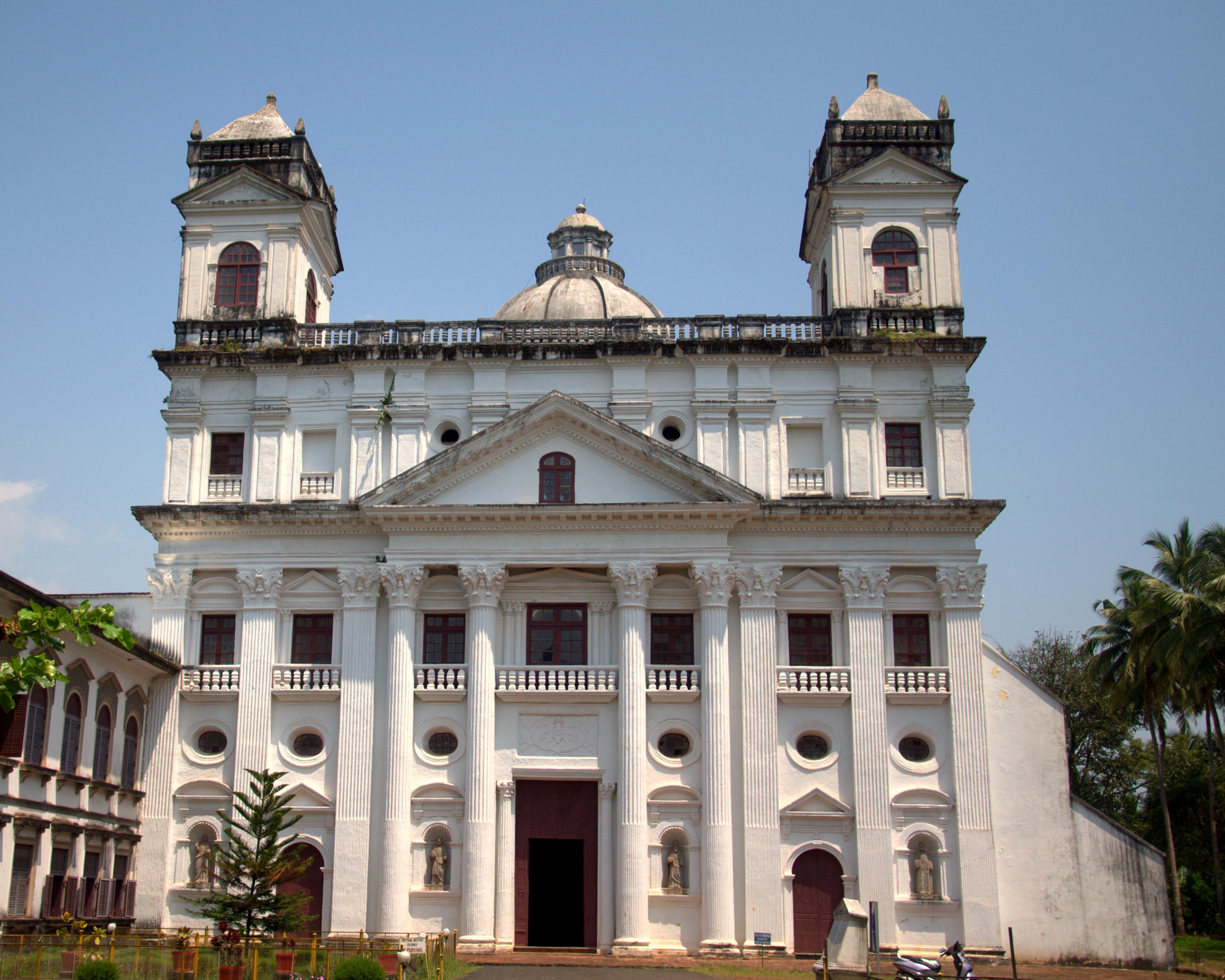 The Chapel of St.Cajetan in old Goa.